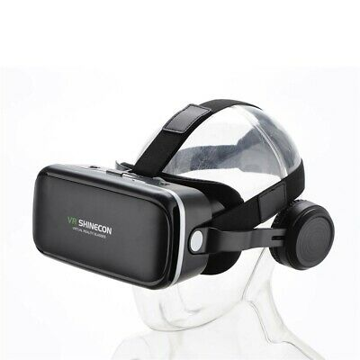 AU43.57 • Buy 360° VR Virtual Reality Headset 3D Glasses Goggles Mobile Phone + Remote Control