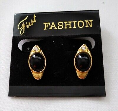 £1.50 • Buy Brand New Clip On Earrings In A Tear Drop Shape With A Diamante. (c2)