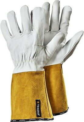 ~~ Tegera 130A Leather Welding Heat Resistant Tig Mig Gloves All Sizes ~~ • 9.99£