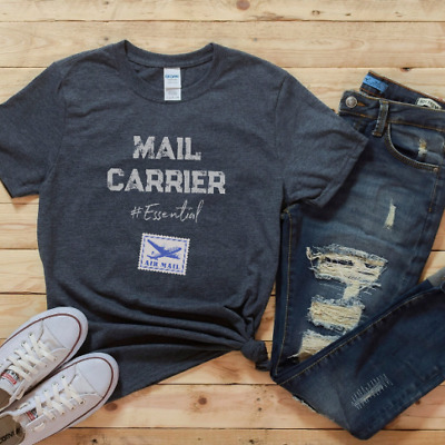 $23.95 • Buy Funny Mail Carrier T-shirt, Essential Employee Gift, Postal Shirt Postal Worker