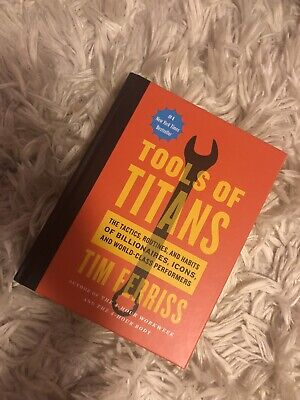 AU19.39 • Buy Tools Of Titans The Tactics, Routines, And Habits Of Billionaires LIKE NEW Book