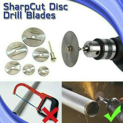 AU13.64 • Buy Disc Drill Blades And Mandrel Set