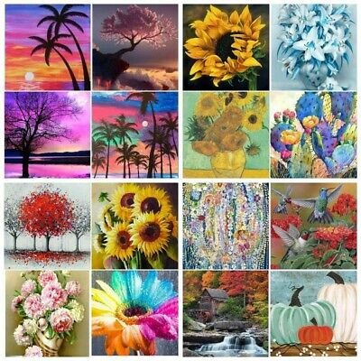 AU10.99 • Buy 5D Full Drill Diamond Painting Embroidery Craft Home Garden  Landscape Painting