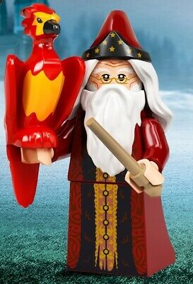 £4.49 • Buy Lego Harry Potter 71028 Series 2 - No. 2 Dumbledore & Fawkes - New/Sealed