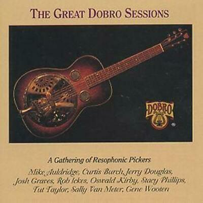 Various : The Great Dobro Sessions: A Gathering Of Resophonic Pickers CD (1994) • 8.41£