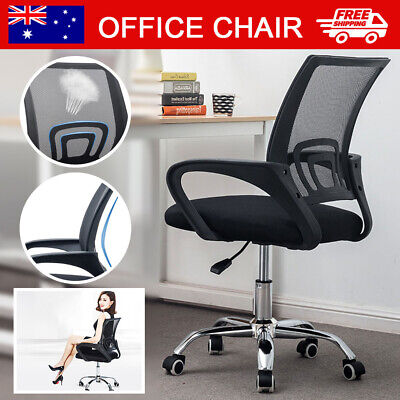AU60.99 • Buy Office Chair Gaming Computer Chairs Mesh Back Executive Seating Study Seat NEW
