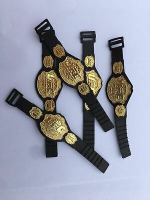 10pcs WWE UFC Championship Toy Belt For 7 Inch Action Figure Gold • 6.99£