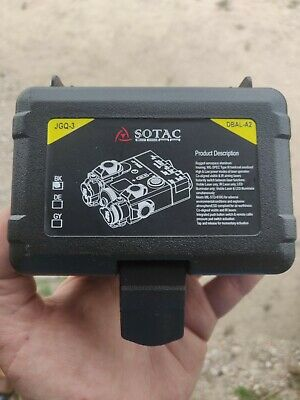 SOTAC NIGHT VISION PEQ-15A DBAL-A2 LED Light + IR RED LASER • 160£