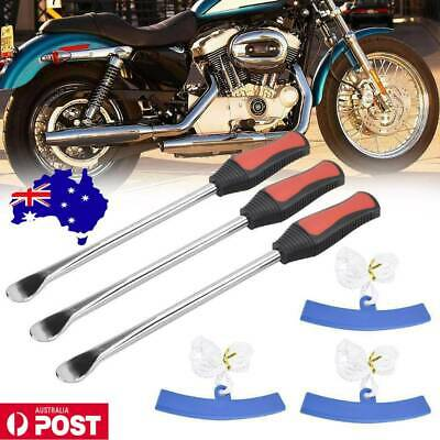 AU12.99 • Buy 3X Tire Irons Spoon Tyre Levers Motorcycle Tool Kits Changer With Rim Protector