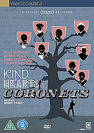 Kind Hearts And Coronets (DVD, 2011) • 5£