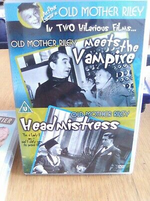 Old Mother Riley Meets The Vampire/Old Mother Riley Headmistress DVD (2006) • 5£