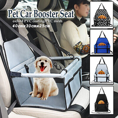 42*42*25CM Large Car Seat Carrier Cat Dog Pet Puppy Travel Cage Booster   • 11.50£