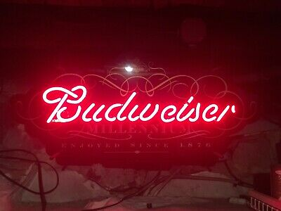 $ CDN201.08 • Buy                                    budweiser Millennium Neon Sign
