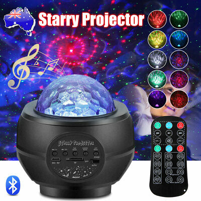 AU62.95 • Buy 3D LED Starry Sky Star Projector Nebula Night Light Lamp Galaxy Baby Room Party