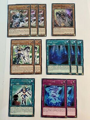 AU20 • Buy Yugioh | Valkyrie - Deck Support (23 Cards) | MP20 | *Ultra Rares* | 1st Ed (NM)