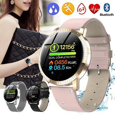 View Details Women Smart Watch Heart Rate Fitness Tracker Bracelet For IPhone Android Samsung • 20.99£