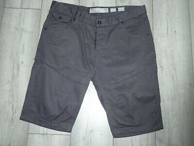Mens Dark Grey Size 38  Cross Hatch Chino/cargo Shorts Button Fly New W O Tags • 16.50£