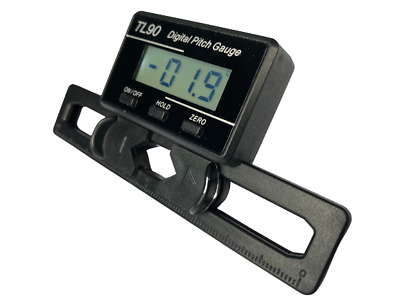 £11.98 • Buy TL90 Digital Pitch Gauge For RC Helicopter 250 - 800 Class Heli