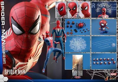 $ CDN733.99 • Buy Hot Toys Vgm31 Marvel Sspider Man 1/6 Figure Spiderman Advanced Suit Version