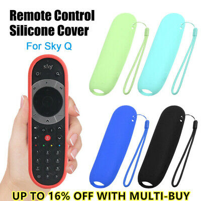 £4.38 • Buy 1PC Skin Silicone Cover Protective Case Remote Controller Protector For Sky Q