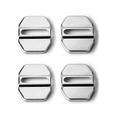 £2.75 • Buy CAR DECORATIVE ACCESSORIES Stainless Steel AUTO DOOR LOCK PROTECTIVE COVER X1