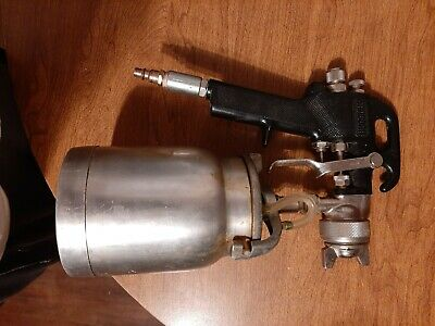 Sanborn Paint Spray Gun Sprayer With Hopper Cup Can Never Used  • 61.51£
