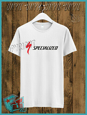$ CDN25.16 • Buy New Fashion Specialized Bicycle Components Mountain Bikes Road White T-Shirt