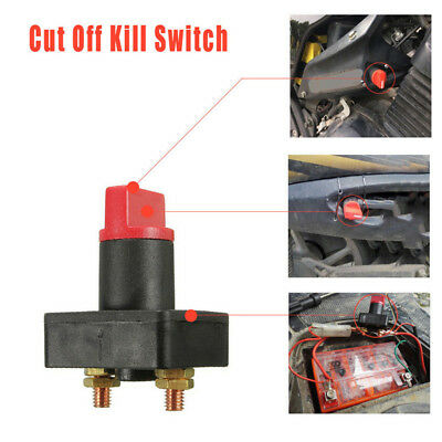 12V 100A Car Boat Camper Battery Isolator Disconnect Cut Off PowerKill Switch_IC • 7.30£