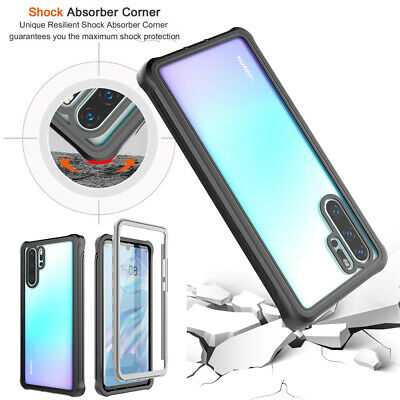 360 Full Body Heavy Duty Shockproof Rugged Hybrid Case Cover For Huawei P30 Pro • 6.99£