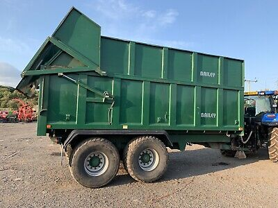 Bailey 15 Ton Silage Trailer. Air Brakes, Flotation Tyres. 2015 Year.  • 14,500£