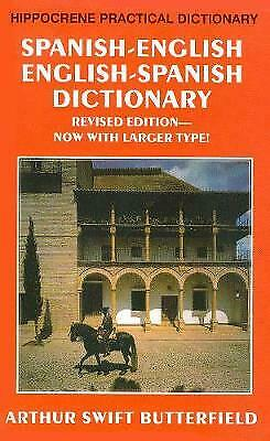 Spanish/English-English/Spanish Practical Dictionary, Butterfield, Arthur • 8.80£