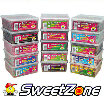 Sweet Zone Pick N Mix Tub/bag Vegetarian Sweets Discount Candy Box Party Favours • 3.99£
