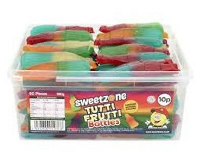 Sweetzone Tutti Frutti Bottles Sweets Wedding Cart Favours Party Bag Pick  • 0.99£