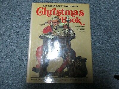 $ CDN26.65 • Buy THE SATURDAY EVENING POST Christmas Book-Illustrated By Norman Rockwell & Others