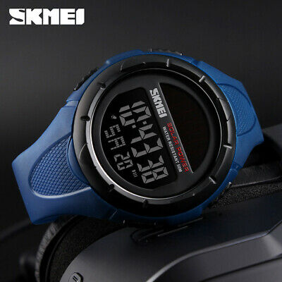 $ CDN12.33 • Buy SKMEI Fashion Solar Power Sports Watch Men Waterproof Digital Wristwatch 1405 1x