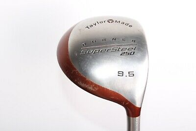 Taylormade Burner Supersteel 250 Driver 9.5* Bubble Regular Flex Graphite Shaft • 25£