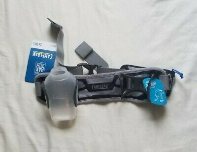 CamelBak Arc 2 O/S 10 Oz Hydration Runner Water Belt Black Electric Blue AS IS • 11.31£