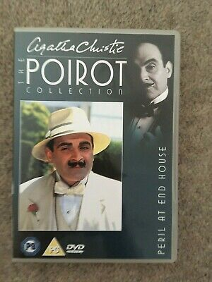 Agatha Christie: Poirot - Peril At End House (1990) DVD  **LIKE NEW CONDITION**  • 5.99£