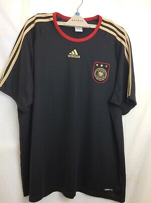 Adidas -deutscher Fussball-bund - Germany Black T Shirt - Size 2xl • 4.98£