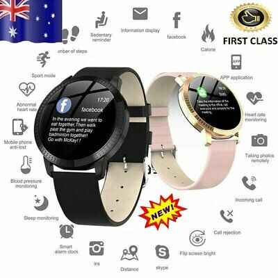 AU36.52 • Buy Women Men Waterproof Bluetooth Smart Watch Phone Mate For IPhone Android IOS WZ