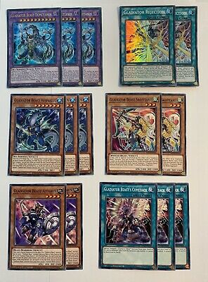 AU20 • Buy Yugioh | Gladiator Beast - Deck Core (21 Cards) | MP20 | *Ultra Rares* | (NM)