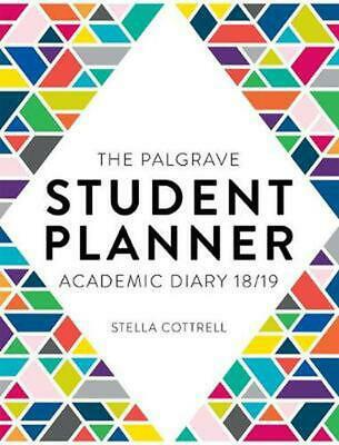 Palgrave Student Planner 2018-19 By Stella Cottrell Free Shipping! • 20.99£