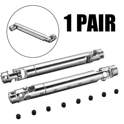£8.99 • Buy 2Pcs Universal Steel Drive Shaft 110-155mm For 1/10 Axial SCX10 RC Crawler NEW
