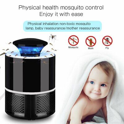 Electric UV-Light Mosquito Fly-Bug Killer Insect Grill Zapper Trap Catcher Lamp • 5.89£