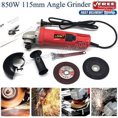 850W Electric Angle Grinder 115mm 4.5  Heavy Duty Cutting Grinding Polishing UK • 22.38£