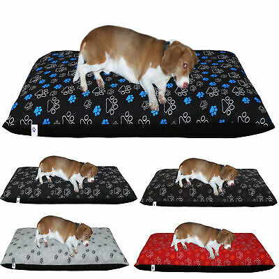 Dog Bed Removable Zipped Cover Washable Pet Bed Cushion Cover Medium And Large • 2.45£