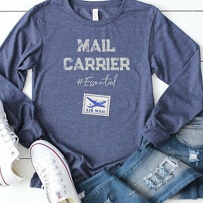 $33.95 • Buy Mail Carrier T-shirt, Frontline Warrior Shirt, Save The POST OFFICE Tee Mail Man