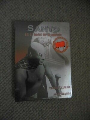 VERY RARE Lucha Libre Crime Mystery DVD SANTO IN THE  HOTEL OF DEATH(1961) Mask • 12.99£