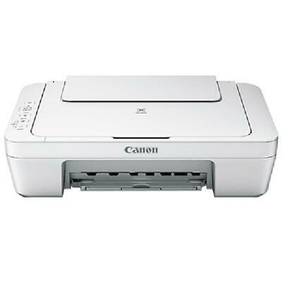 View Details Canon All-in-One Color Inkjet Printer Wired Print/Scan/Copy W/ USB Cord & Ink • 47.59$