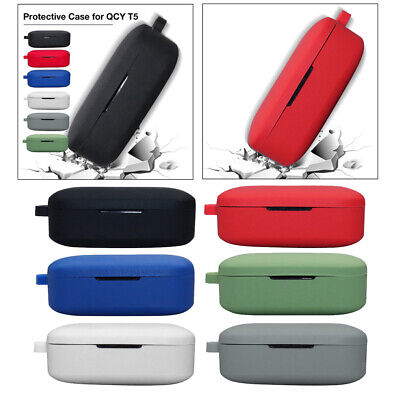 $ CDN8.75 • Buy For QCY T5  Earbuds Cover Bluetooth Earphone Case Cover Protective Case
